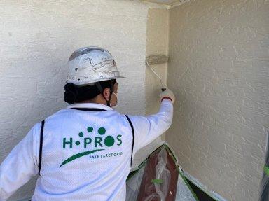 草加市 住宅 2階建て屋根外壁塗装工事が完了しました。