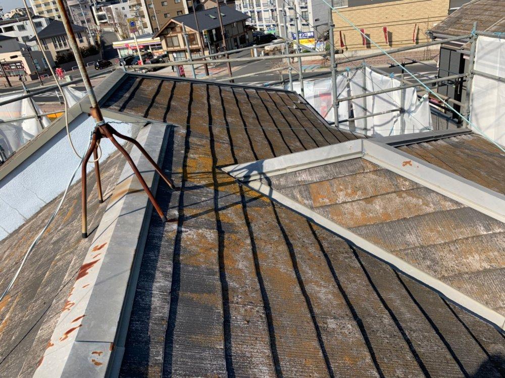 屋根施工前 写真