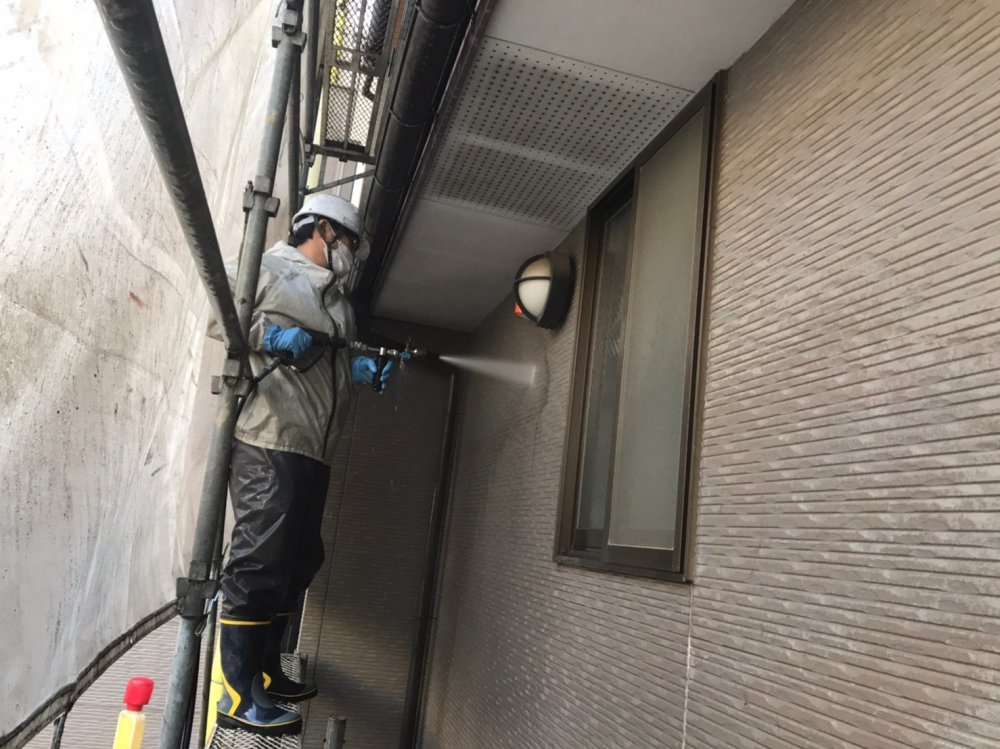 高圧洗浄(外壁・屋根・その他) 写真