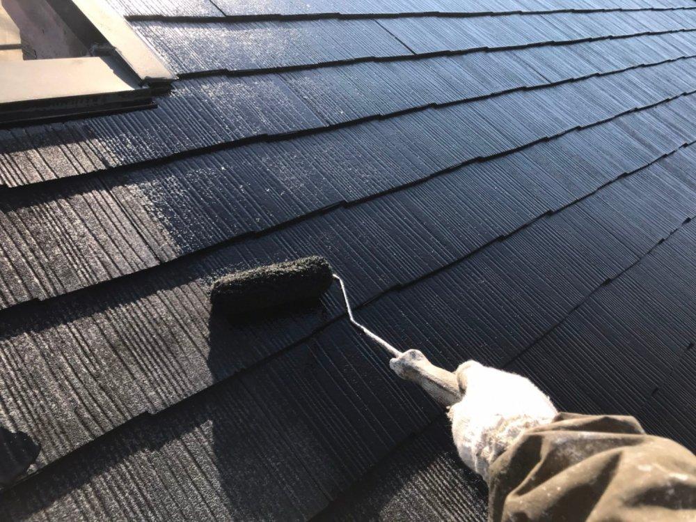 屋根塗装工事 写真