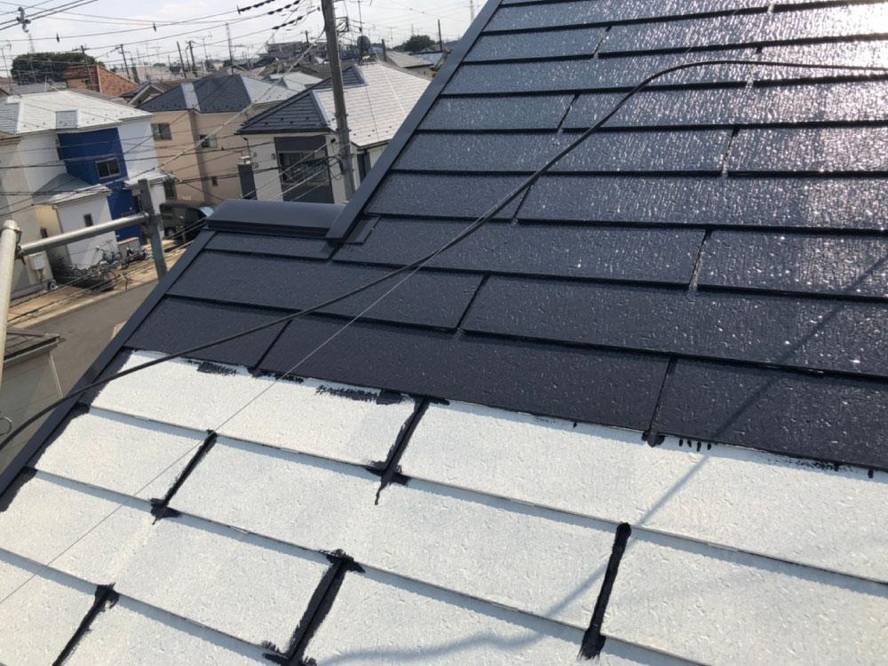 屋根塗装 写真