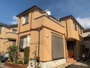 埼玉県川口市 2階建て住宅の屋根外壁塗装