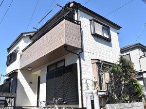 埼玉県富士見市 2階建て住宅の屋根葺き替え 外壁塗装