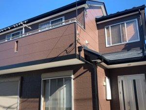 埼玉県川越市 木造2階建て住宅の外壁塗装・屋根カバー工法