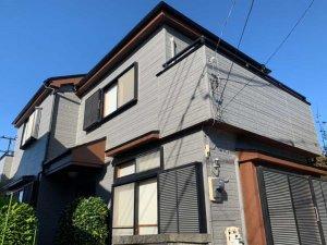 埼玉県富士見市 2階建て住宅サイディングの外壁塗装