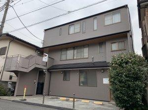 埼玉県 志木市 3階建て 屋根外壁塗装工事