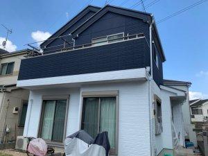 埼玉県三芳町 木造2階建住宅 屋根外壁塗装