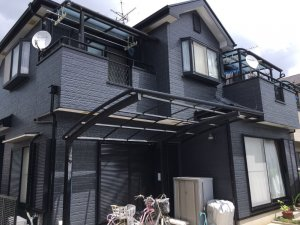 埼玉県川口市 木造2階建て住宅の屋根外壁塗装