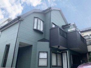 埼玉県さいたま市 木造2階建て住宅の外壁塗装