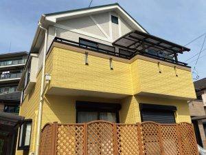 埼玉県草加市 2階建て住宅の外壁塗装