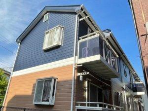 埼玉県さいたま市 アパート外壁塗装工事