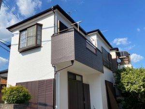 埼玉県さいたま市 2階建て木造住宅外壁塗装工事